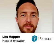 Les Hopper, Head of Innovation, PEARSON