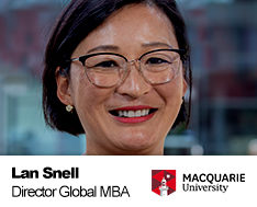Lan Snell, Course Director Global MBA · Macquarie University