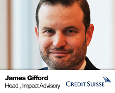 James Gifford, Head of Impact Advisory at Credit Suisse